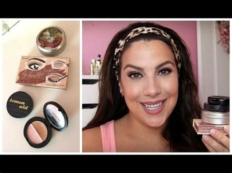 eyeshadow tutorial benefit old school benefit makeup haul review tutorial 2164759