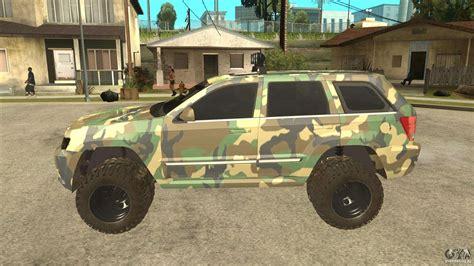 camo jeep grand jeep grand srt8 camo для gta san andreas