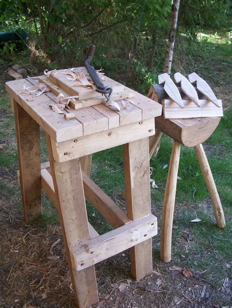 bowl carving bench carving bench diy shop made pinterest