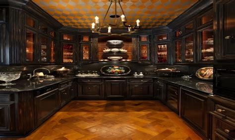Victorian decor ideas, gothic victorian kitchen gothic