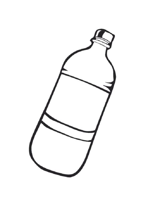 coloring page water bottle water bottle coloring page coloring pages pinterest