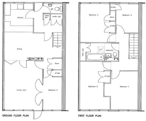 5 bed house plans 5 bedroom house floor plan 171 berecroft residents association