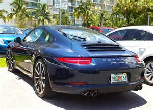 Blue Porsche Blue Porsche 911 S Cars On The Streets Of