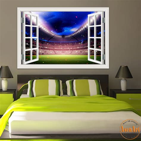 wallpaper for walls reviews football wallpaper murals reviews online shopping