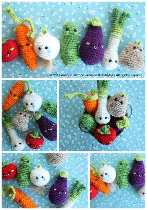 pattern amigurumi food horray for veggies amigurumi food free crochet pattern