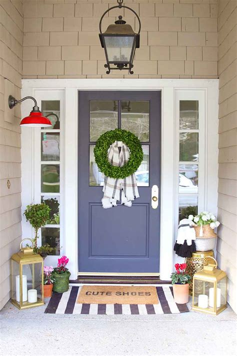 doormat layering guide porch decorating modern glam