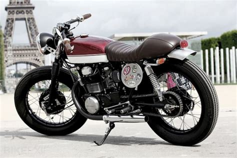 honda cb 350 caf 233 racer ma pour les motos