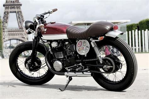 1973 honda cl350 cb350 cafe racer excellent for sale honda cb 350 caf 233 racer ma pour les motos