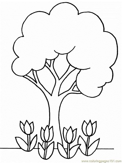 cartoon flowers images coloring home