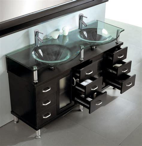 double sink bathroom vanity  espresso  virtu usa home decor interior design discount