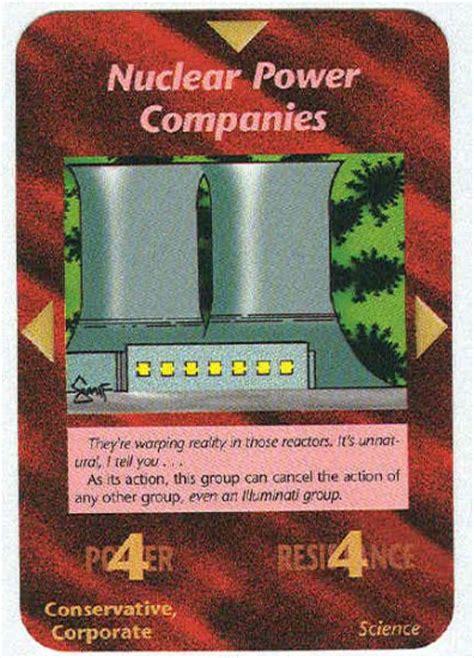 illuminati companies illuminati nuclear power companies nwo trading card