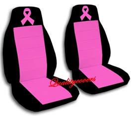 Pink Car Seat Covers Australia Breast Cancer Ribbon Car Seat Covers In Pink Black