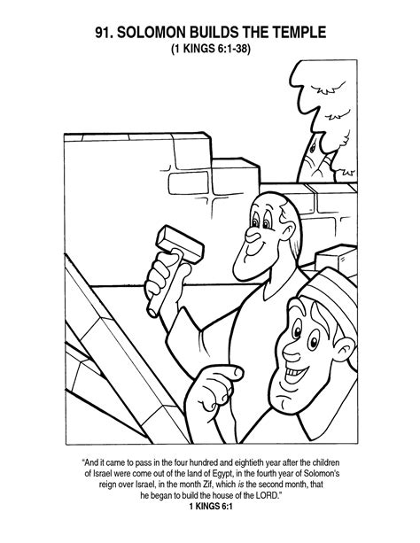 coloring page of king solomon s temple king solomon coloring page many interesting cliparts