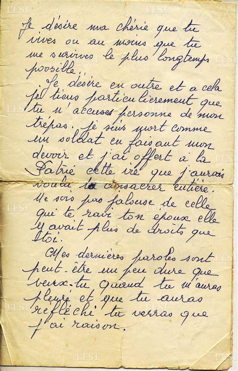 école De Julie Lettre G 14 18 Lettres De Poilus Julien Serignat Quot Je Suis Mort Comme Un Soldat En Faisant Mon Devoir Quot