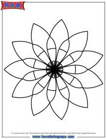 basic mandala coloring pages simple mandalas colouring pages