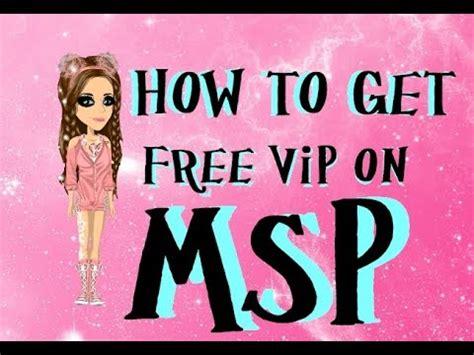 how to get free vip on msp 2016 how to get free vip on msp youtube