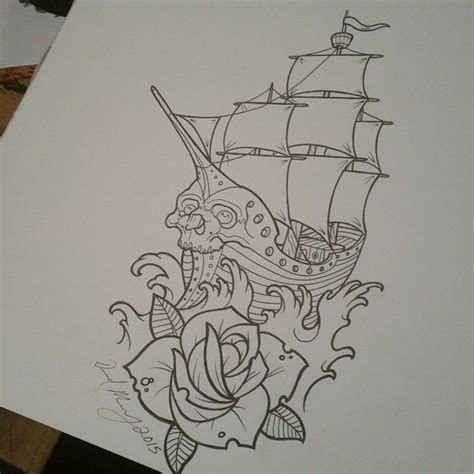 traditional boat drawing best 25 traditional ship tattoo ideas on pinterest