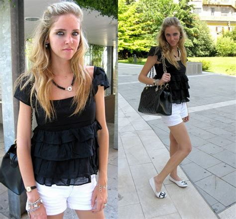 chiara ferragni zara black top co onyx
