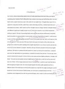 Sle Essay About Yourself by Sle Autobiography