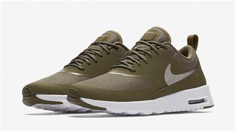 Womens Nike Air Max 200 by Nike Air Max Thea Olive Womens At0067 200 The Sole Womens