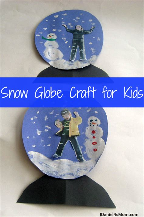 snow craft for snow globe craft for