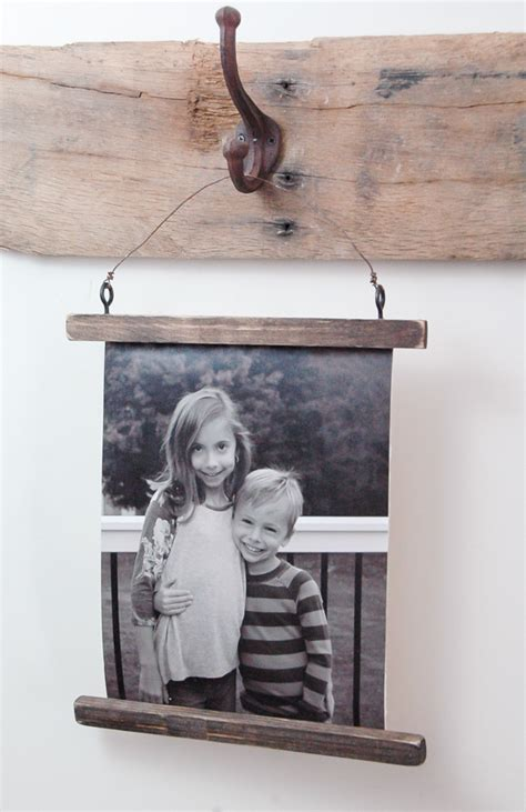 photo hanging wire how to make a rustic wire photo hanging little house of