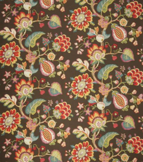 flower upholstery fabric upholstery fabric eaton square eet pebble floral jo ann