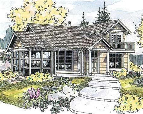 Vacation Cottage House Plans by Cozy Vacation Cottage 72471da Architectural Designs House Plans