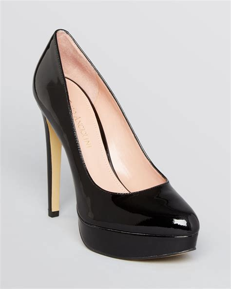 platform black high heels enzo angiolini platform pumps arlee high heel in black lyst