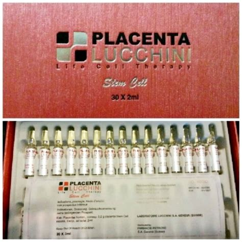 Placenta Lucchini placenta lucchini cell therapy stem cell anti aging products