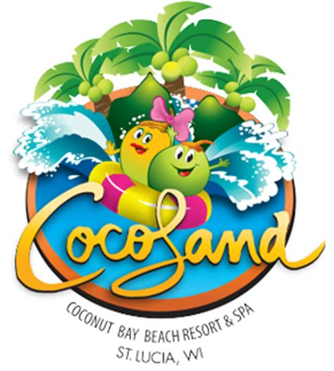 coco land cocoland st lucia coconut bay all inclusive child