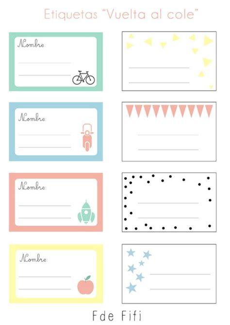 imagenes de libretas escolares m 225 s de 20 ideas incre 237 bles sobre etiquetas para cuadernos