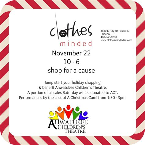 Shop For A Cause And Help Make The World More Glamorous by Az Local Shop For A Cause Clothes Minded Event Helps