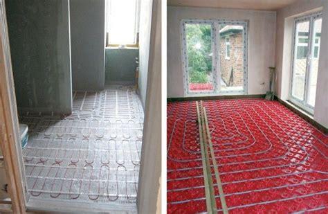 Radiant Floor Heating Bathroom by Best 25 In Floor Heating Ideas On In Floor