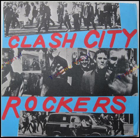 totally vinyl records clash the clash city rockers guitar doors 7 inch picture cover