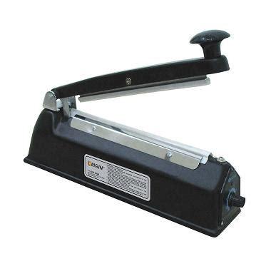 jual origin 200m hitam press sealer plastik impulse sealer