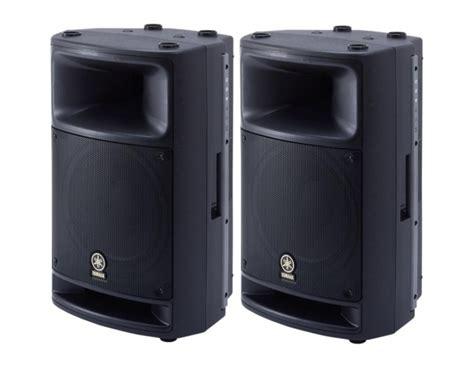 le 400 watt yamaha msr400 cassa attiva obsoleto suonostore