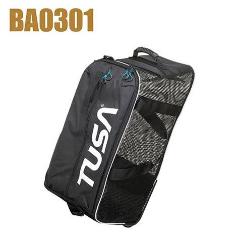 Tusa Travel Bag Ba0202 Roller Bag Large Aksesoris Dive And Snorkeling Tusa Bags