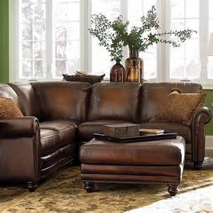 Bassett Sectional Sofa Hamilton Leather Sectional Sofa By Bassett Furniture Bassett Sectional Sofas