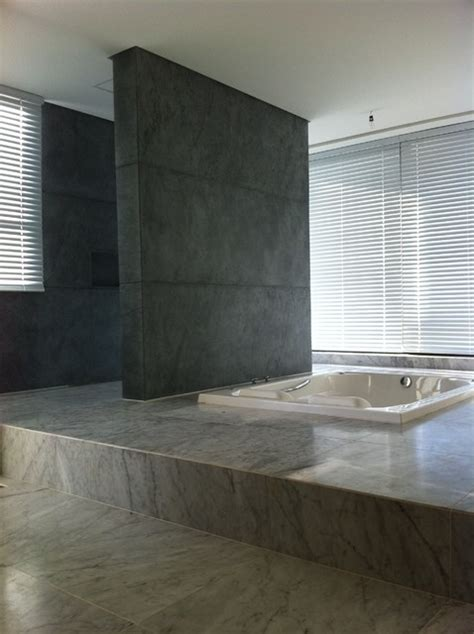 Soapstone Bathroom Soapstone Modern Tile Bathroom From Brazil Modern