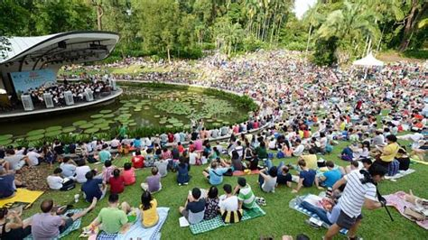 Concerts At Botanical Gardens More Than 6 000 Visitors Enjoy Sso Concert At Singapore Botanic Gardens