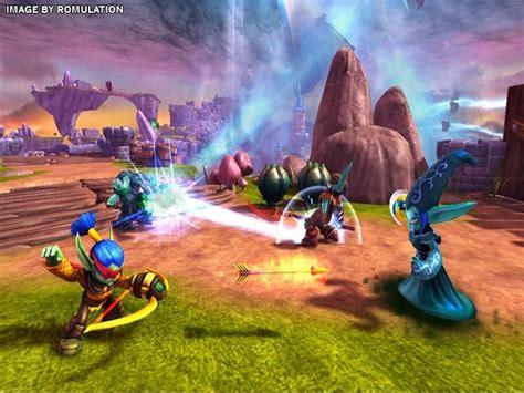 Skylander Spyros Adventures Wii skylanders spyros adventure usa nintendo wii iso romulation