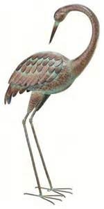 regal art preening crane 3 d standing art garden decor regal bedroom d 233 cor in modern houses joanna designs