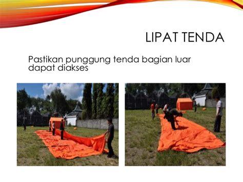 Tenda Besi Bongkar Pasang pasang bongkar tenda