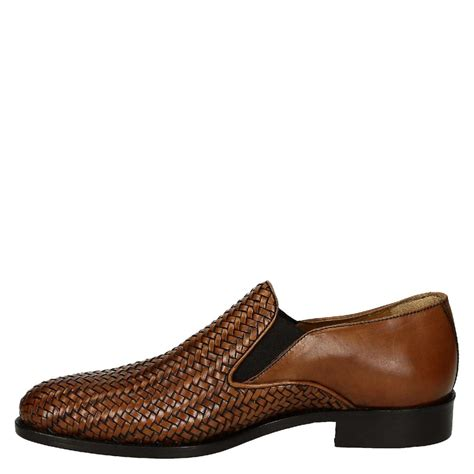 mens woven leather loafers woven leather s gussets loafers shoes leonardo