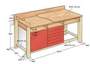 werkstatt tisch selber bauen ma 223 geschneiderte werkbank selber bauen herzst 252 ck jeder