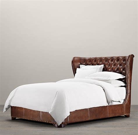 Leather Beds 17 Best Ideas About Leather Bed On Black