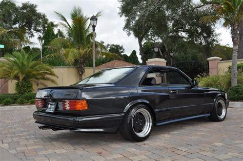 black series 4 of 4 1987 mercedes 560sec amg widebody
