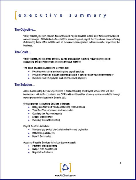 Business Proposals Template business business format business