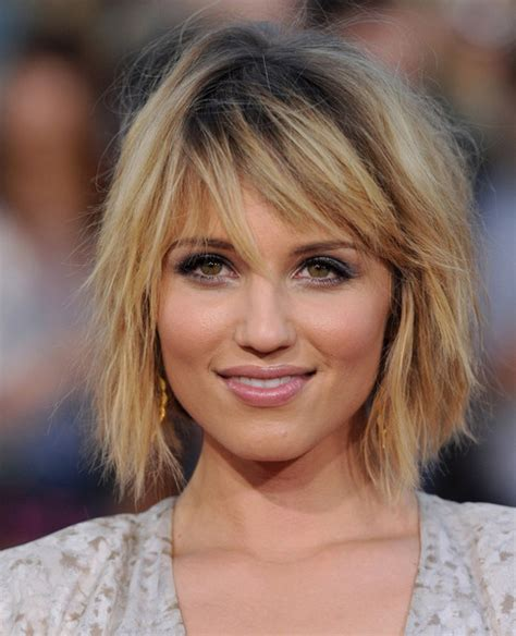 Dianna Agron Hairstyles by Dianna Agron In A Funky Hairstyles Look